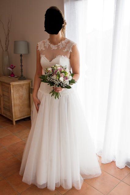 Robe de mari e cymbeline t 40 42 garonne haute for Dallas de conservation de robe de mariage