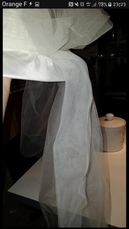 Chapeau mariée ivoire  - Garonne (Haute)