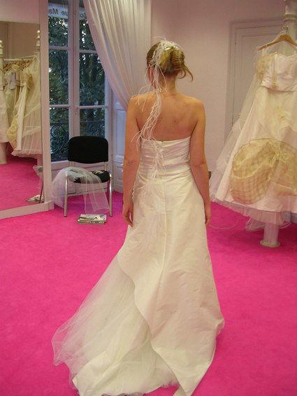 Robe de mariée Linea Raffaelli Taille 36 d'occasion en soie sauvage