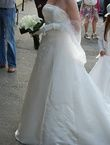 Robe de mariage d'occasion de chez Les mariés de Rennes - jupon Jade