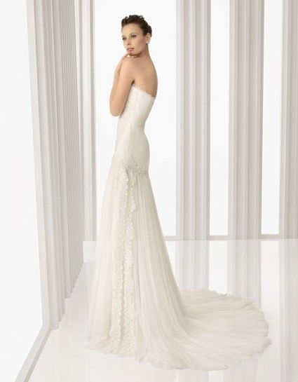 Robe de mariée Rosa Clara Amatista 100% soie d'occasion
