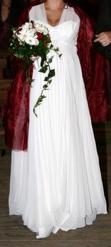 Robe de mariée pas cher Empire, Idéale grossesse - Occasion du mariage