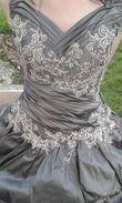 Robe de mariée gris/taupe - Occasion du Mariage