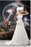 Robe de mariée Hervé Mariage Paris pas cher en 2012 - Occasion du Mariage