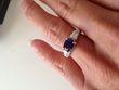 Magnifique Bague Diamant et Saphir - Occasion du Mariage
