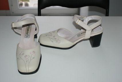 chaussures de mariée - Aube