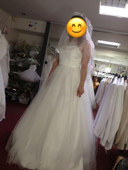 Location robe de mariée couleur ivoire - Indre