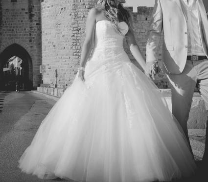 Robe de mariée d'occasion Pronovias modèle Barocco 2102 - Occasion du Mariage