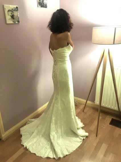 Robe de mariée forme sirène  - Puy de Dôme