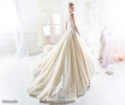 Robe de mariée créateur Nicole SPOSE - Pas de Calais