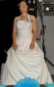 Robe de mariée d'occasion ivoire taille 42/44 - Morbihan