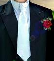Cravate de mariage + boutonnière - Occasion du Mariage