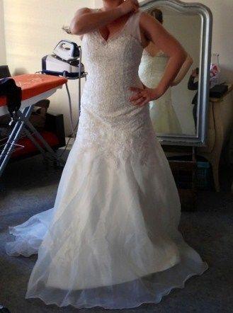 Robe de mariée neuve taille 38 d'occasion