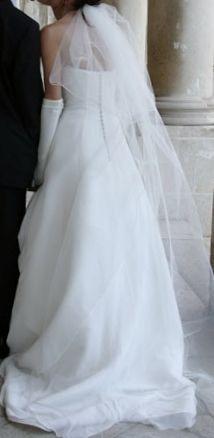 Robe de mariée pas cher créateur Lise St Germain 2012 - Occasion du Mariage