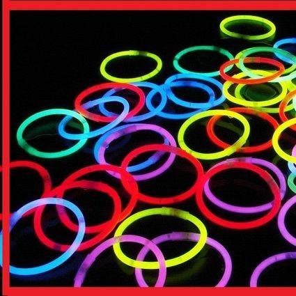 Lot de 10 bracelets fluo ou  + décoration table mariage - Occasion du Mariage