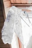 Boléro de mariée en dentelle manche 3/4 - Occasion du Mariage