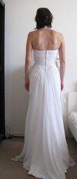 Robe de Mariée d'occasion de marque Cymbeline couleur blanc ivoire