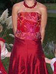 robe de marié rouge T 38 - Occasion du Mariage