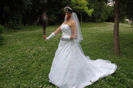 Très belle robe de mariée taille 40/42 pas cher - Occasion du Mariage