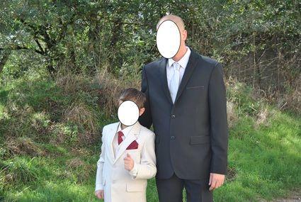 Costume Garçon beige taille 8 ans d'occasion