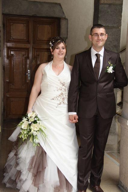 Robe de mariée d'occasion Eglantine Création 2012 modèle Camélia