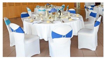 Housses de chaises candy bar vases d co mariage finist re - Housse chaise mariage occasion ...