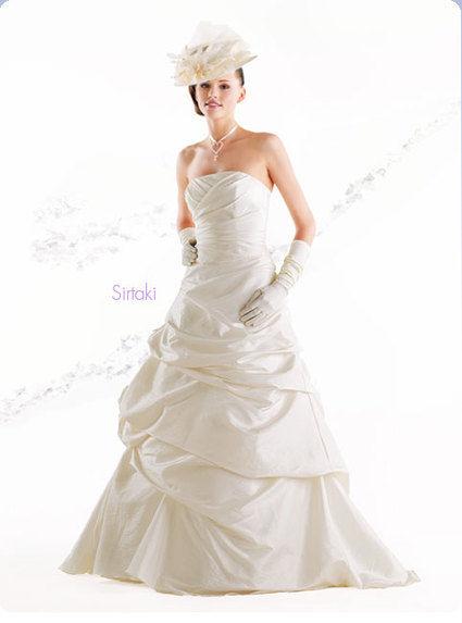 Robe de mariée Sirtaki neuve + jupon + voile + collier - Occasion du Mariage
