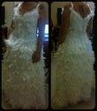 Robe de mariée faite de plume NEUVE - Occasion du Mariage