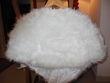 étole fourrure blanche - Occasion du Mariage