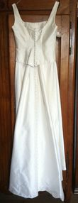 robe de mariée en soie sauvage ivoire T 36/38 - Loire Atlantique