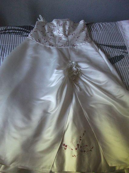 Robe de mariée d'occasion grande taille - Indre