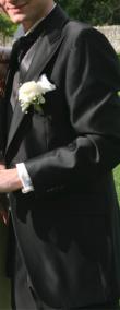 Costume Marié Jean De Sey - taille 48 noir - Occasion du Mariage