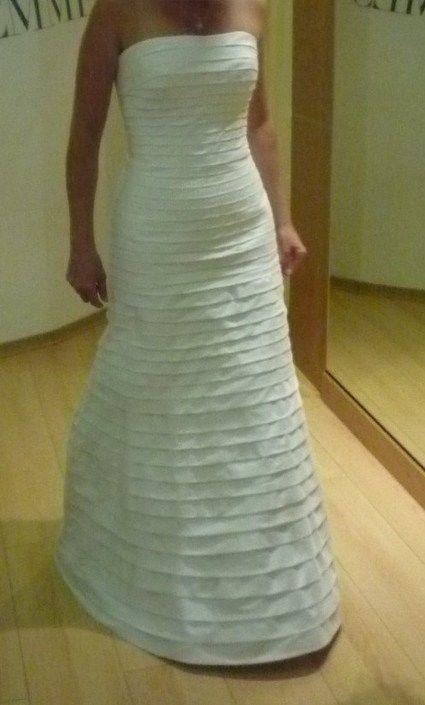 Très belle robe de mariée Cymbeline modèle Darlène avec jupon et boléro pas cher