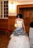 Robe de mariée T38 grise et blanche - Occasion du Mariage