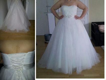 Magnifique robe de mariée ivoire 2013 + accessoires