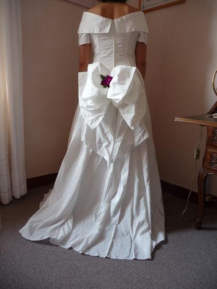 Robe de mariée Complicité en blanc naturel pas cher en 2012 - Occasion du Mariage