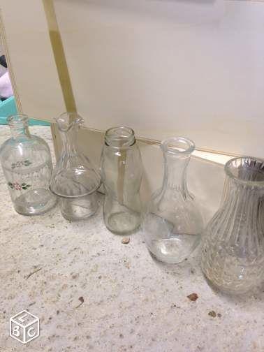 Vases en déco de mariage d occasion Landes