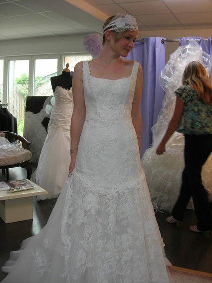 Robe de mariée pas cher Cymbeline style Retro vintage - Occasion du mariage