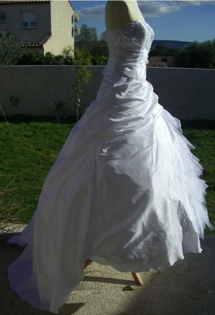Robe de mariée Tati mariage Palermine pas cher d'occasion 2012 - Languedoc Roussillon - Hérault - Occasion du Mariage