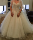 Robe de mariée et accessoires jamais portes.   - Occasion du Mariage