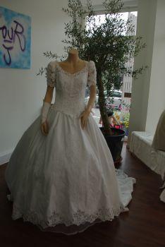 Robe de mariée d'occasion T40  en Alsace 2012 - Occasion du mariage