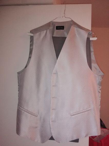 Costume marié gris  - Gironde