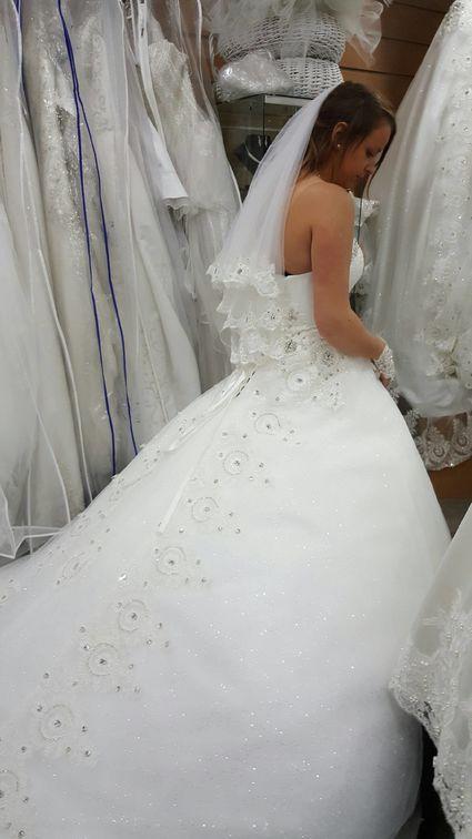 robe de mariée neuve avec tous les accessoires - Oise