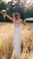 Robe de mariée champêtre - Occasion du Mariage