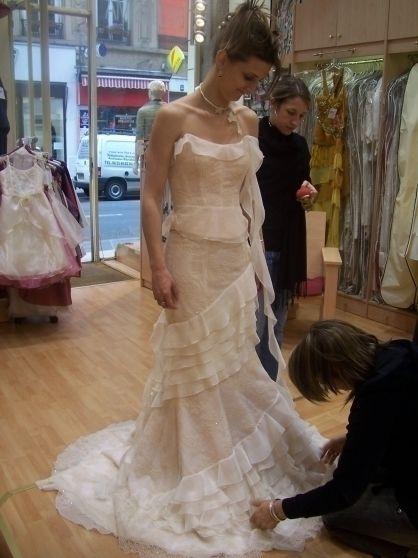 Robe de mariée Cymbeline pas cher d'occasion 2013