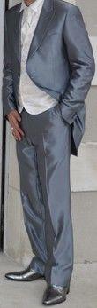 Costume et chaussures de marié 7 pièces d'occasion