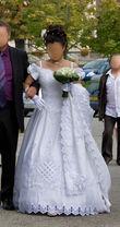 Robe de mariée Princesse d'occasion avec accessoires pas cher en 2012