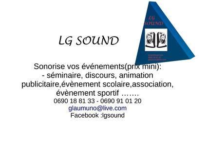 Sonorisation - Guadeloupe