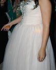 Robe princesse rose pâle - Taille 38 à 42/44 - Occasion du Mariage