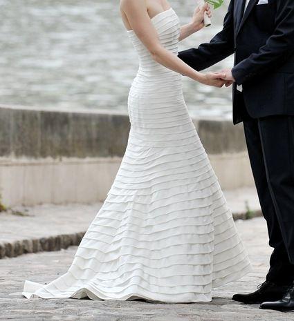 Robe de mariée CYMBELINE Modèle Darlène T38-40 pas cher d'occasion 2012 - Ile de France - Paris - Occasion du Mariage
